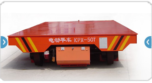 Electric Flatbed Rail Car