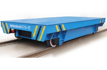 Copper mill industry bay to bay apply track handling cart