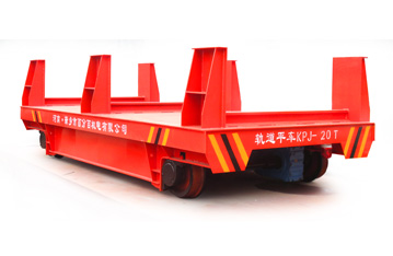 Cold roll rail transport truck for hot dip galvanized plant