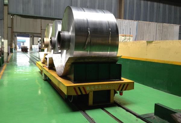 Metal Coil Transporter Die Handling Parts Transporter