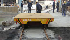 S-shape rail car's feature