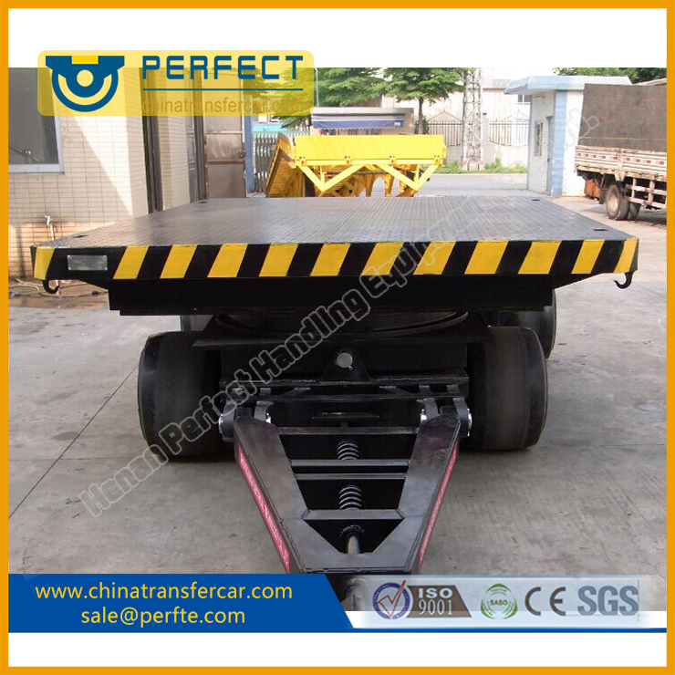 Heavy Duty Industrial Trailer, No Power Transfer Trailer, Flatbed Trailer