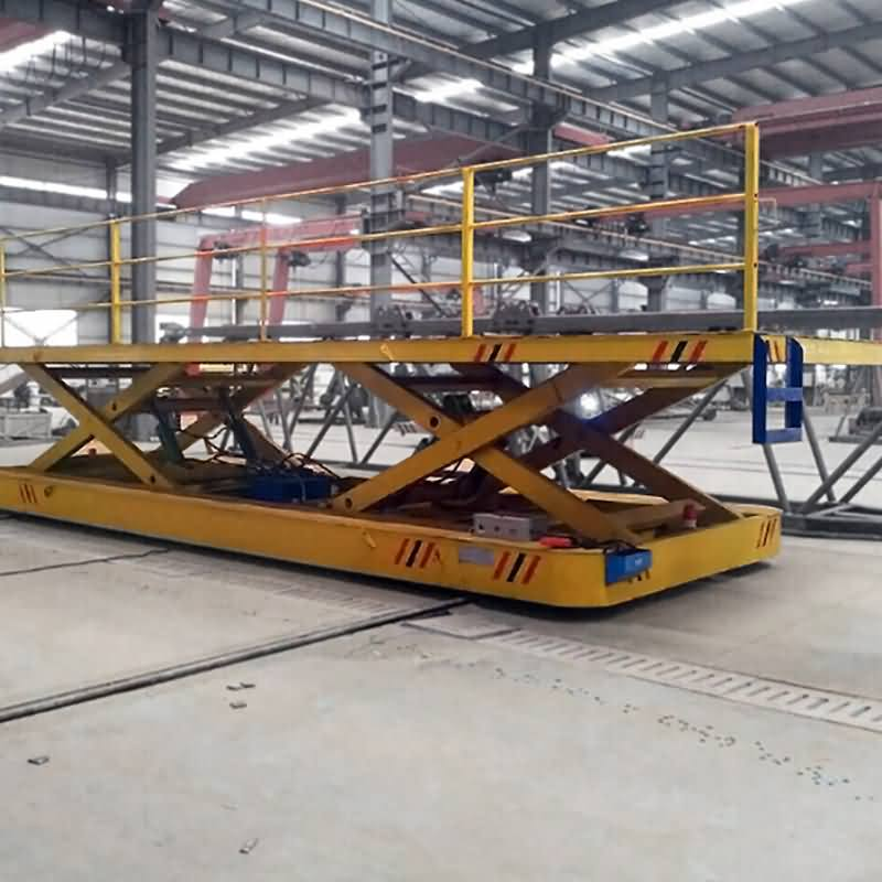 Q & A of heavy duty transfer cart with lifting platform