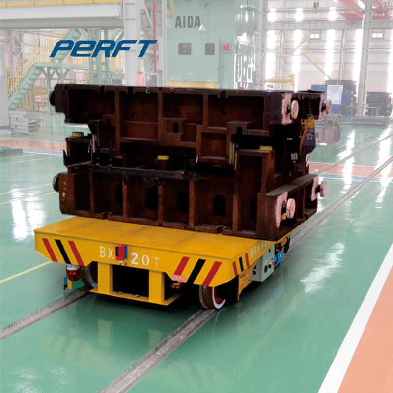 60T industrial rail transfer cart