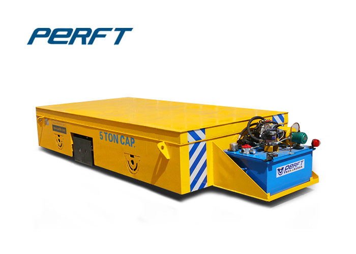 Steel Coil Transfer Cart With Hydraulic Lifting