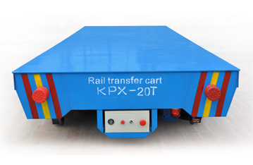 Motorized factory material transfer solution car/Battery operated transfer car