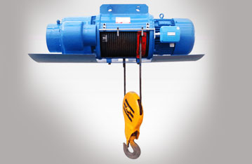 High strength electric wire rope hoist for warehouse