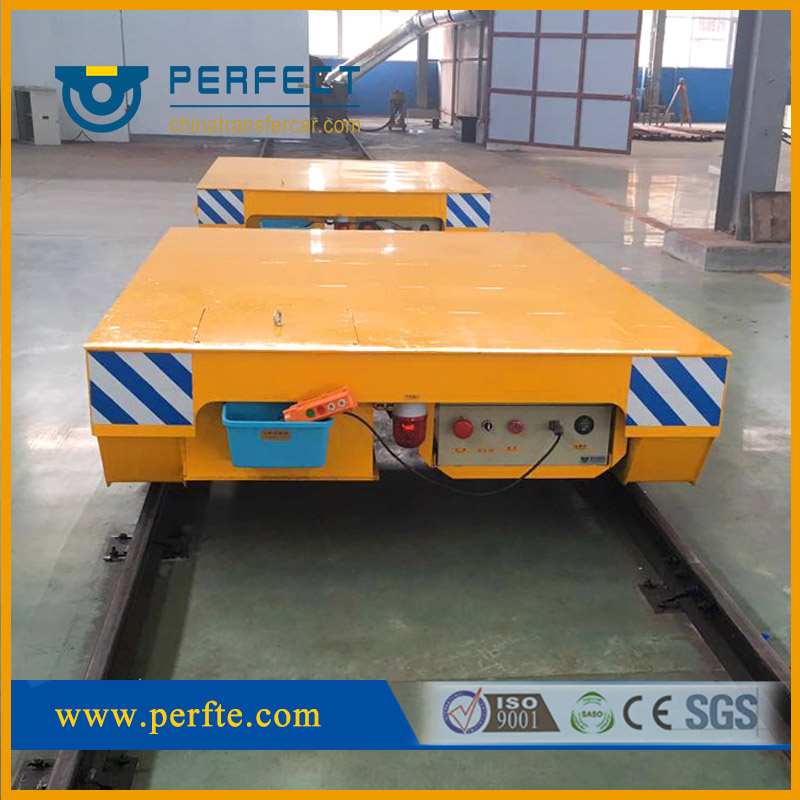 Rail Guide Vehicle, another solution for fully-automated factory