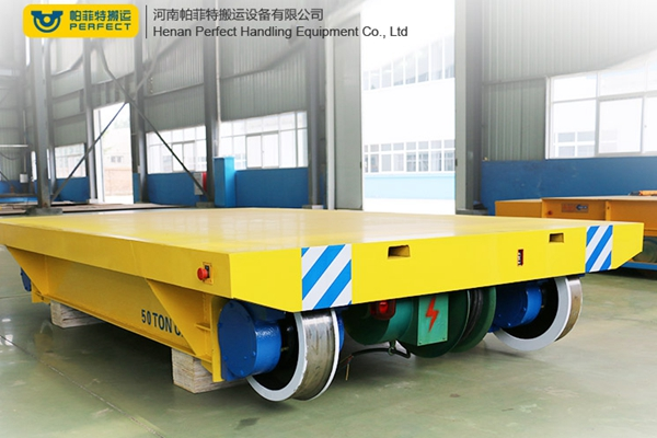 Use and maintenance of cable drum powered transfer carriage