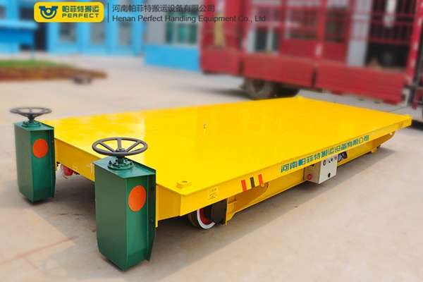 The composition of electric transfer cart and its application characteristics