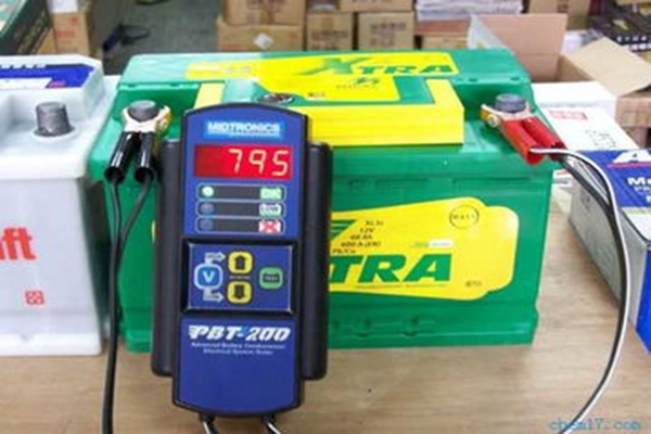 A temporary repair method for the failure of transfer cart battery