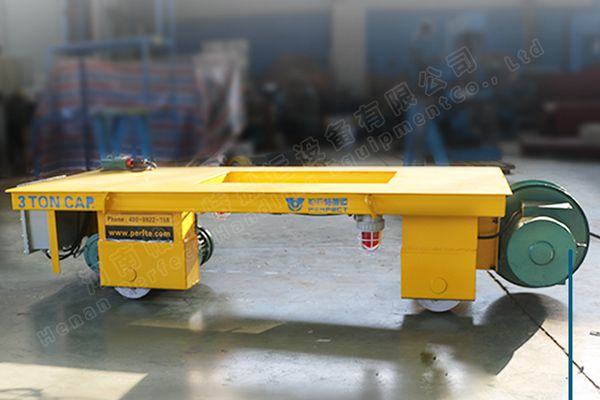 What kind of electric transfer cart is required for mining enterprises?