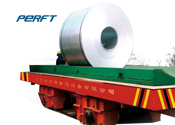 electric powered indoor steel coil transfer car Transport vehicle