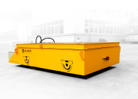 Super generation steel plate electric trackless transfer cart