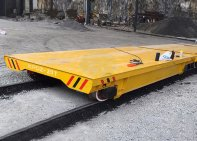 Cable Drum Plate Transfer Car/Port Rail Transfer Cart