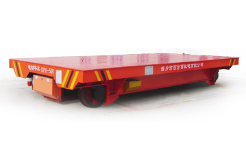 Foundry plant use railroad electric transfer cart/Material handling transfer cart