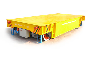 Towed cable power boiler factory rail transfer solution trolley/mold transfer trolley