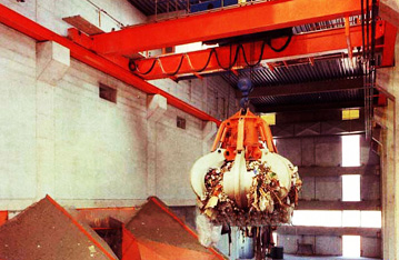 Double beam overhead traveling crane