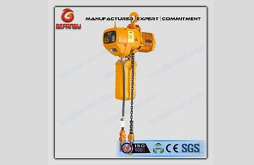 European mini electric chain hoist